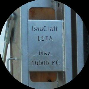 feuerverzinkte BauCraft Rampen